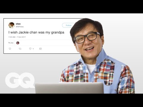 Jackie Chan ist undercover im Internet