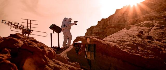 """Im beeindruckende Kurzfilm """"Icarus"""" sieht sich ein Astronaut mit seiner größten Angst konfrontiert"""