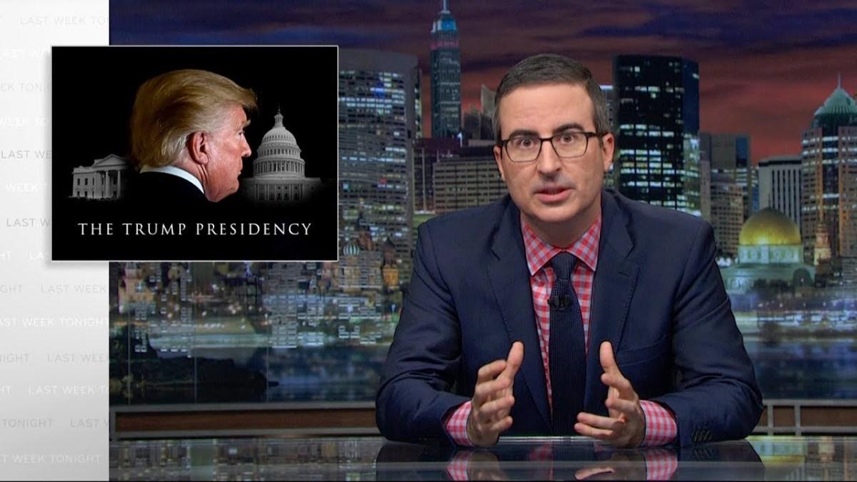 John Oliver über die Trump-Herrschaft (wir können hier was lernen!)