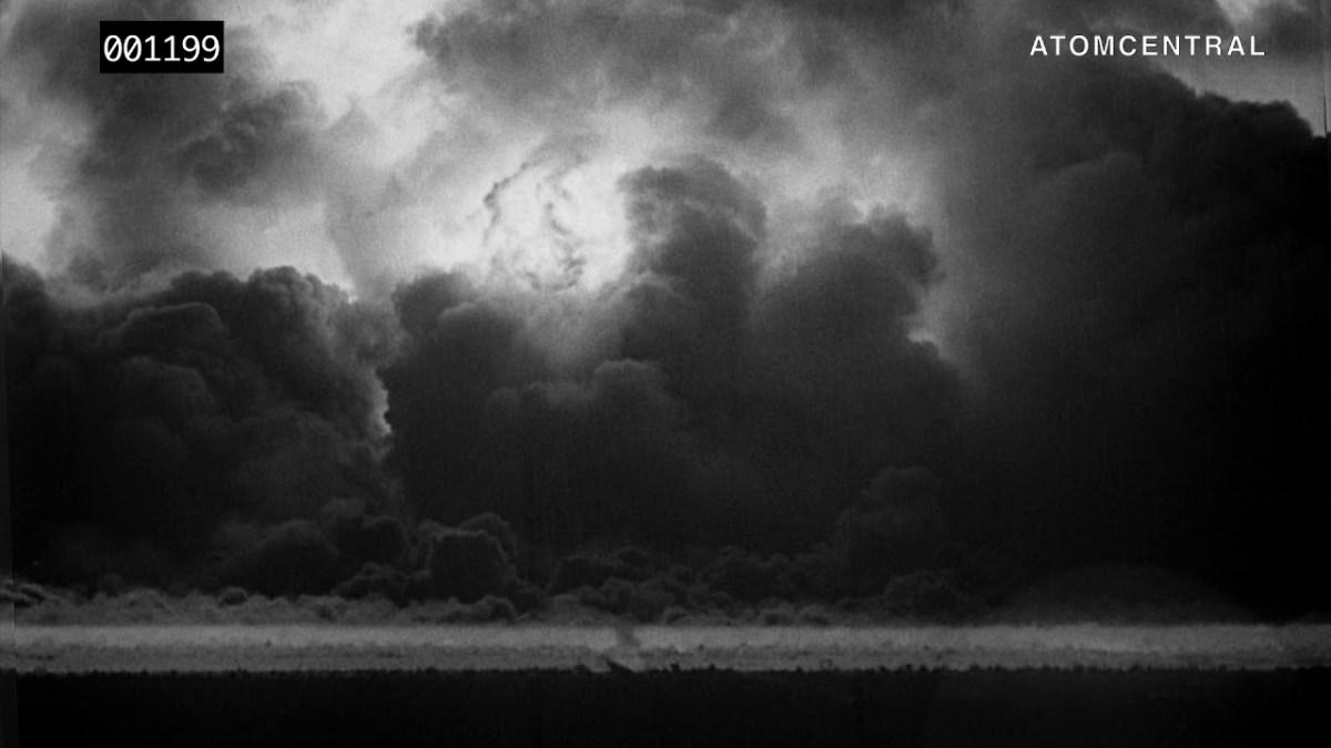 Aufnahmen der ersten Zündung einer Atombombe, restauriert und in HD