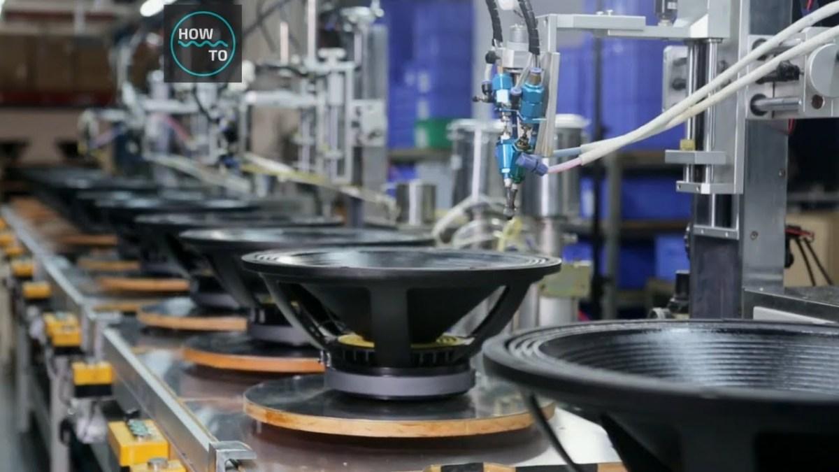 Zu Besuch in einer Lautsprecherfabrik