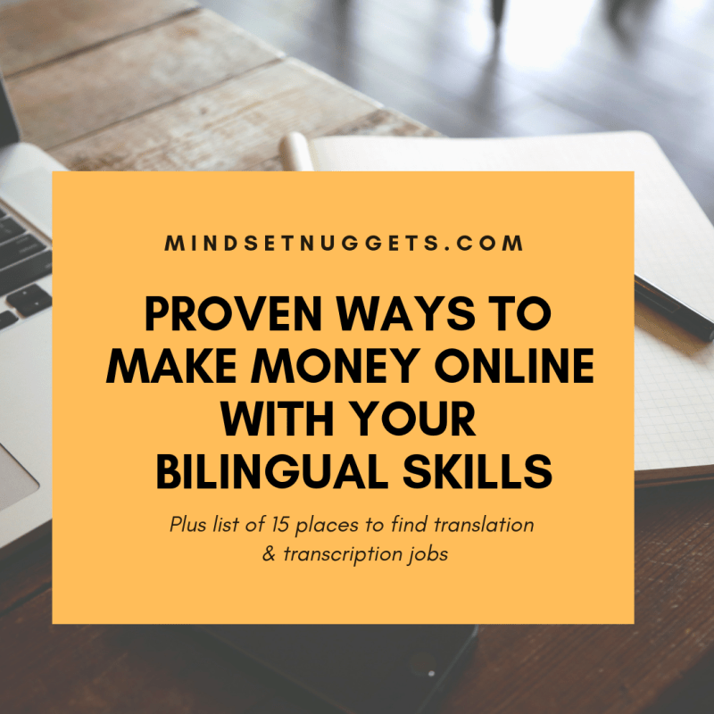 Proven Ways To Make Money Online With Your Multilingual