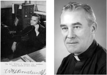 Père Bowdern et Walter Halloran
