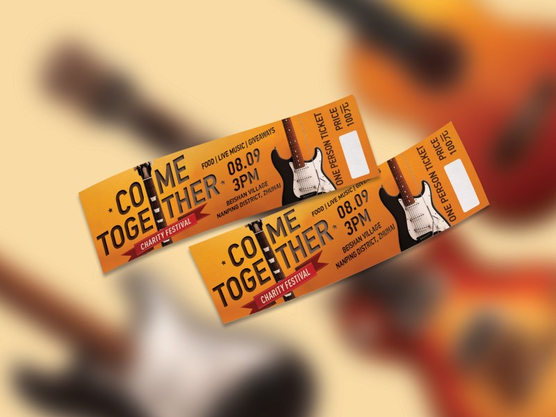 Come Together Charity Festival - Tickets