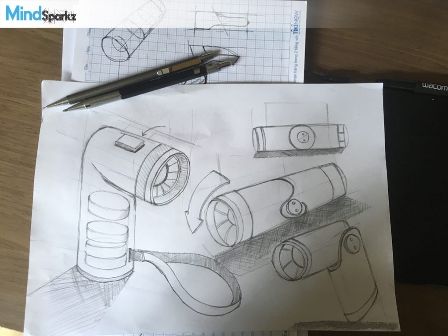 Product design companies - sketches