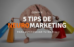 Conoce 5 tips de Neuromarketing para diferenciar tu marca