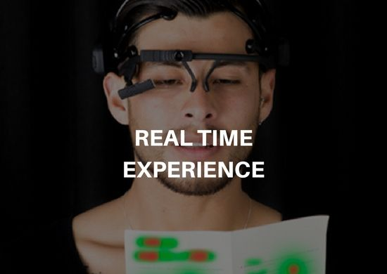 experiencia en tiempo real neuromarketing