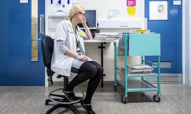 Confessions of a junior doctor Photograph: Ryan Mcnamara/Channel 4