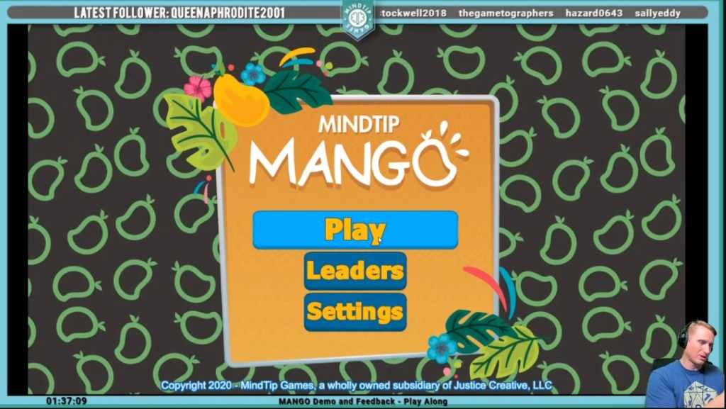 MANGO - First Real Demo