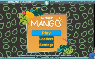 Live Stream – 3/28 – MANGO Feedback
