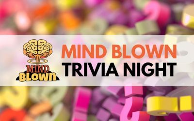 Mind Blown™ Trivia Night Debut on Zoom and FaceBook – Dec 5th at 8pm EST
