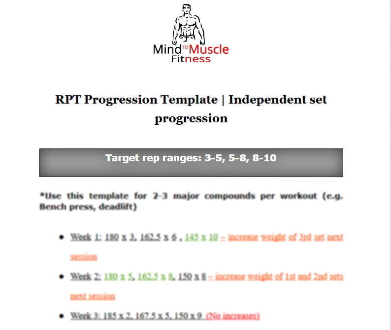 Powerlifting Bench Press Pyramid Program For Max Strength: Pyramid Bench Press Workout Chart