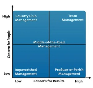 The Blake Mouton Managerial Grid  From MindTools