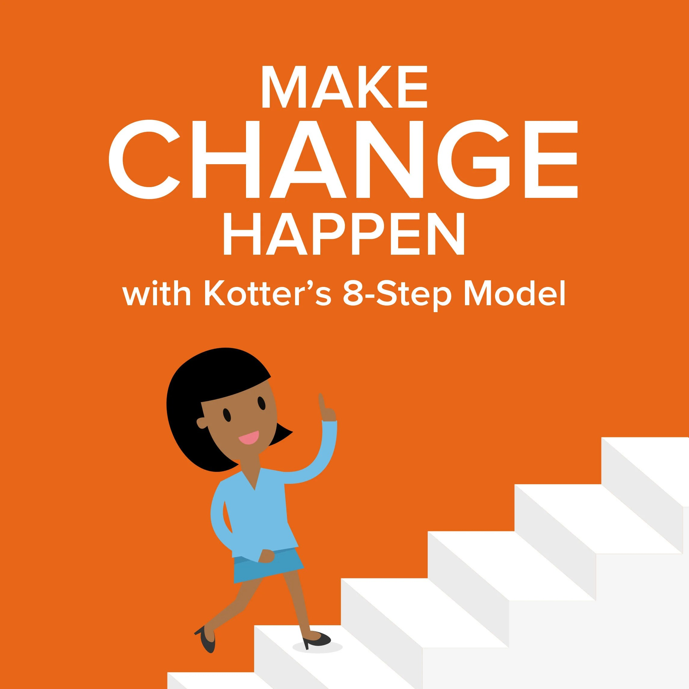 Kotter S 8 Step Change Model