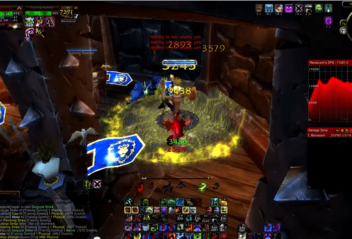 Unholy Death Knight – Training Dummy – 4.0.6a