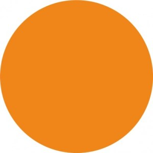 orange single dot