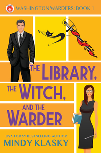 The Library The Witch and the Warder by Mindy Klasky