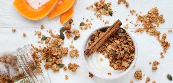 pumpkin spice granola
