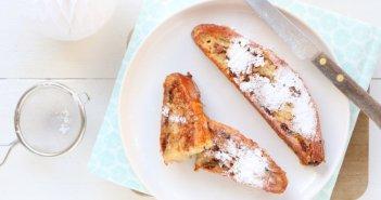 wentelteefjes van kerstbrood