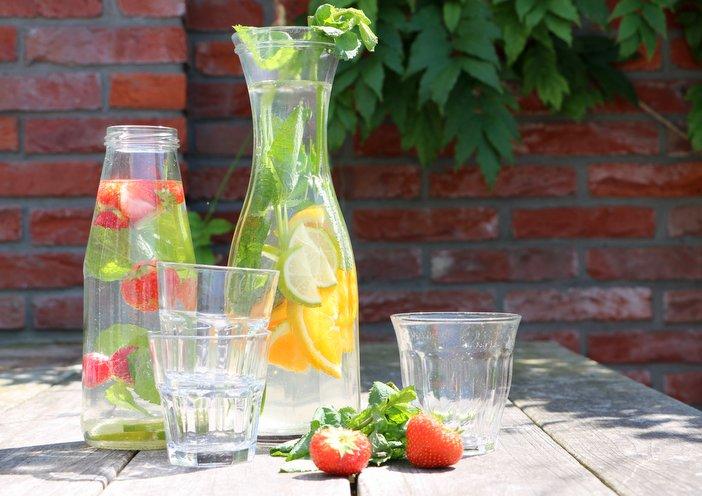 voldoende water te drinken