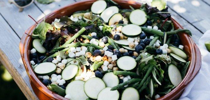 salade met linzen