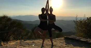 Yoga retreat in Italie