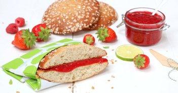 aardbeien frambozen spread