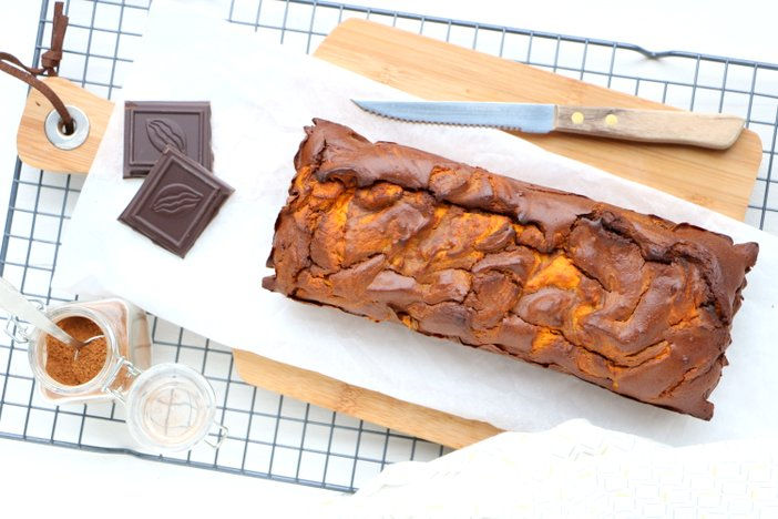 pompoen brownie cake