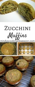 these zucchini muffins are delicious and easy.
