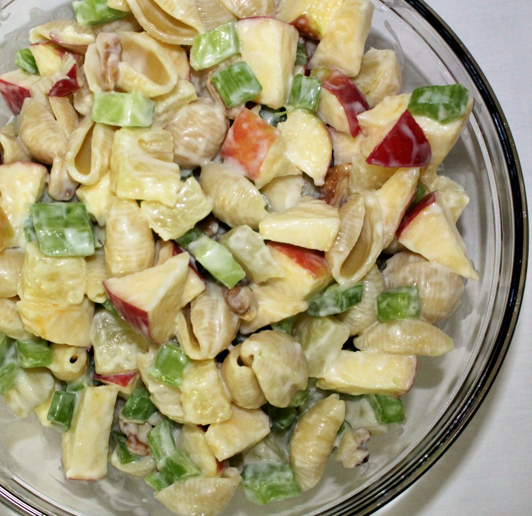 Waldorf Pasta Salad w/Pineapples