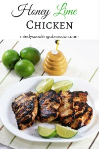Honey Lime Chicken is tangy, sweet, and delicious. It is super easy to make and can be grilled outside, but can also be cooked in the oven.