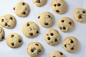 Perfect Chocolate Chip Cookies are fluffy and cake-like. I was inspired to change the traditional chewy cookies into cake-y cookies that are so delicious!