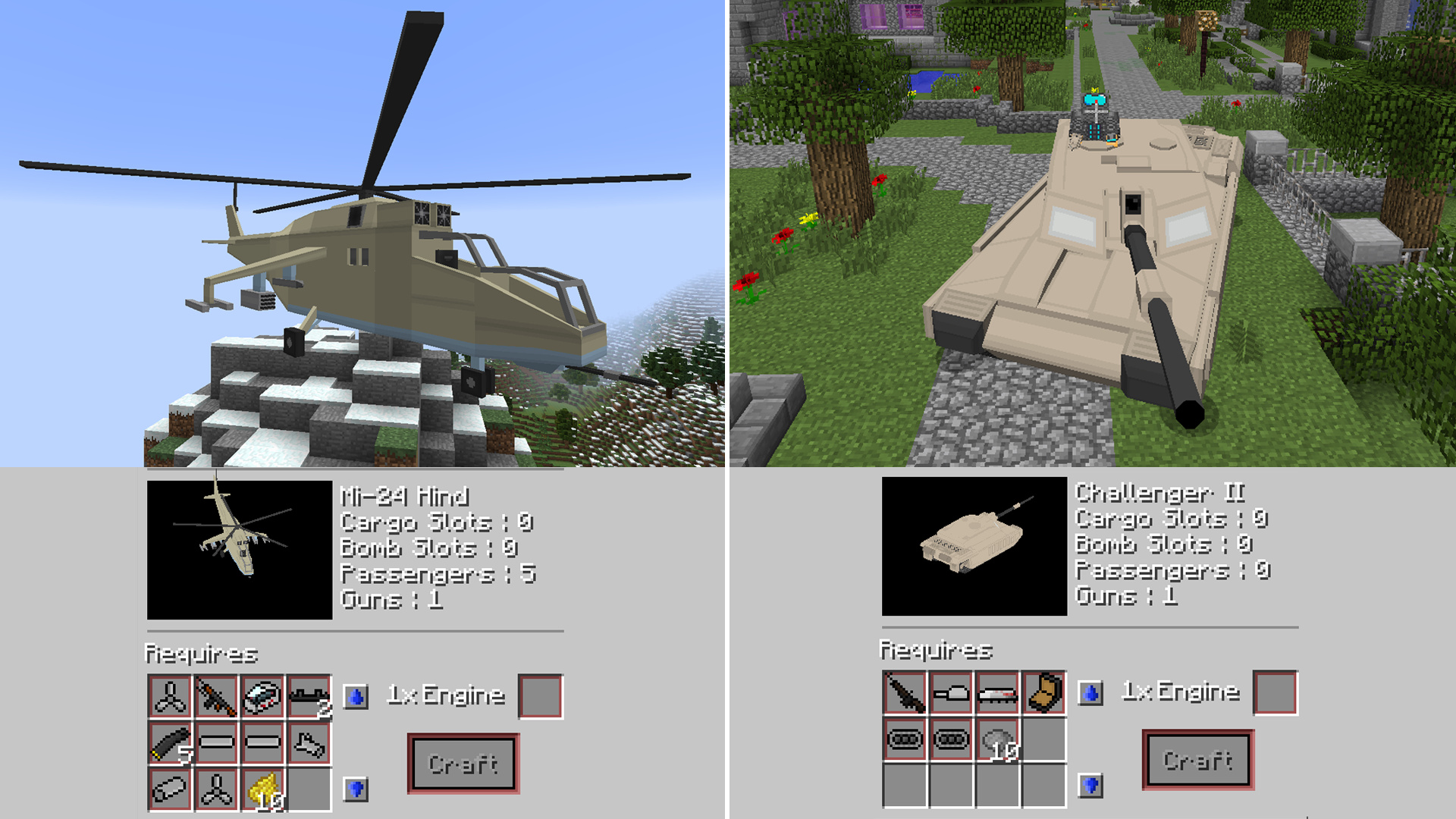 Mod Guide Plane Flans Crafting