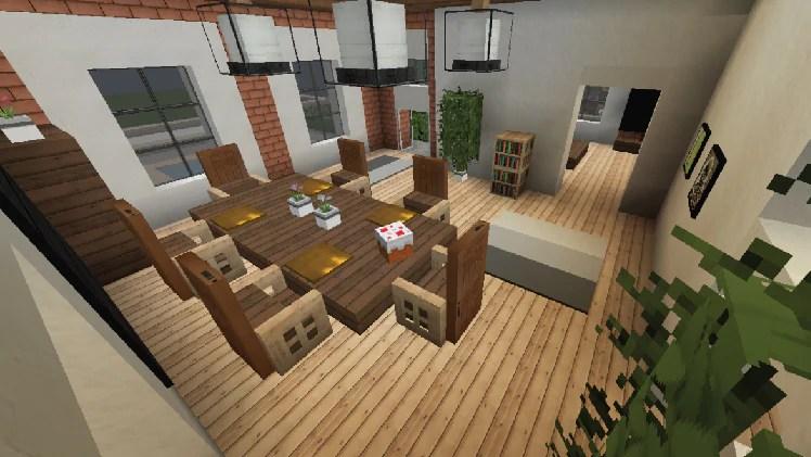 Tije-sp: Minecraft Lake House Interior Design