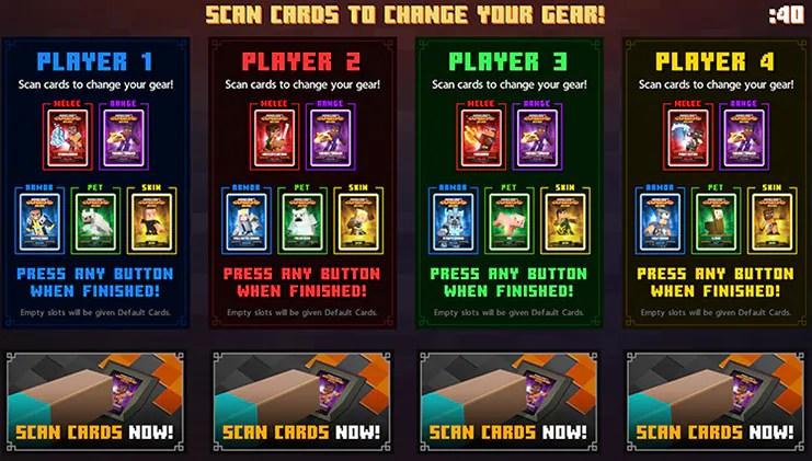 Tarjeta de Minecraft Dungeons Arcade