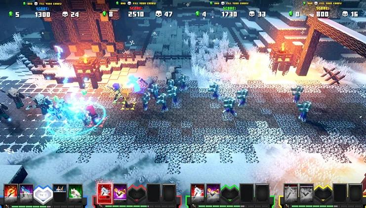 Screenshot de Minecraft Dungeons Arcade