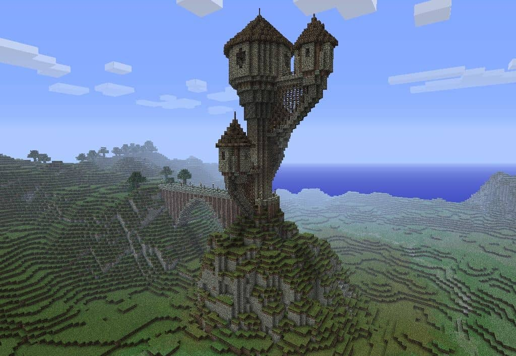 3 Towers Minecraft Building Inc