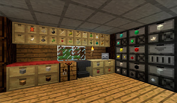 Storage Drawers Mod para Minecraft 1.8