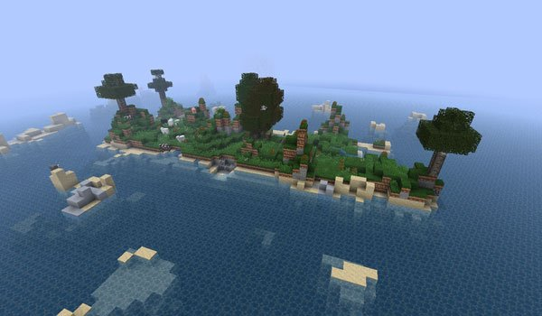Beached Hippo's Ultimate Survival Map for Minecraft