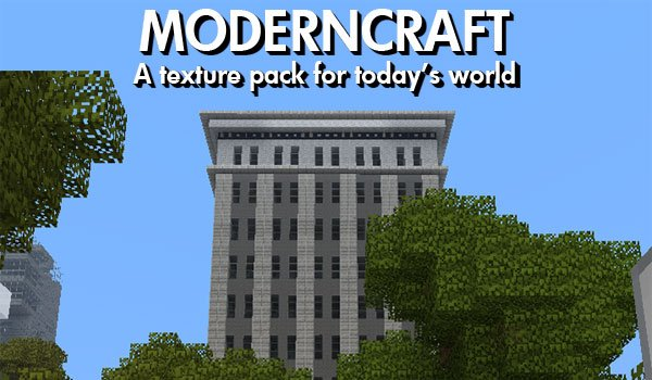 ModernCraft Texture Pack for Minecraft 1.5.1
