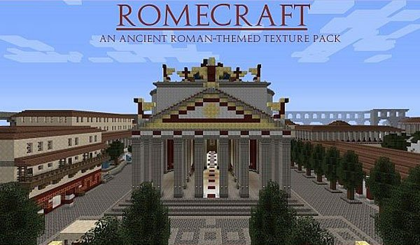 Romecraft Texture Pack for Minecraft 1.7.2