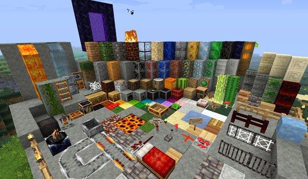 Forgotten Lands Texture Pack for Minecraft 1.5.1