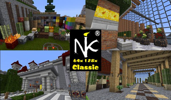 KoP Classic Texture Pack for Minecraft 1.8