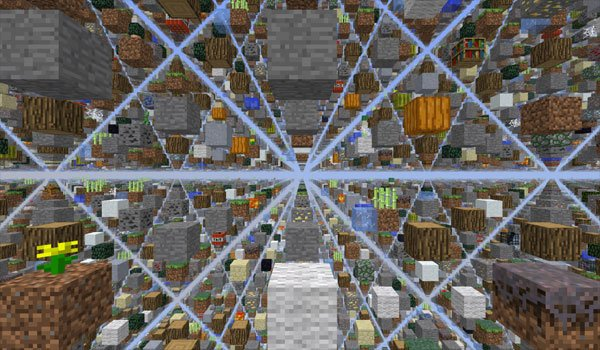 SkyGrid Survival Map for Minecraft 1.5.1