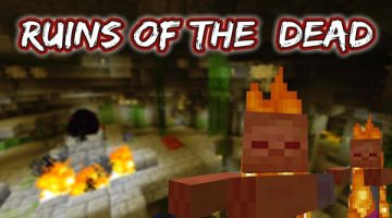 Ruins of the Dead Map for Minecraft 1.6.2