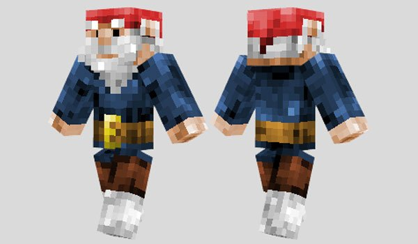Gnome Skin for Minecraft