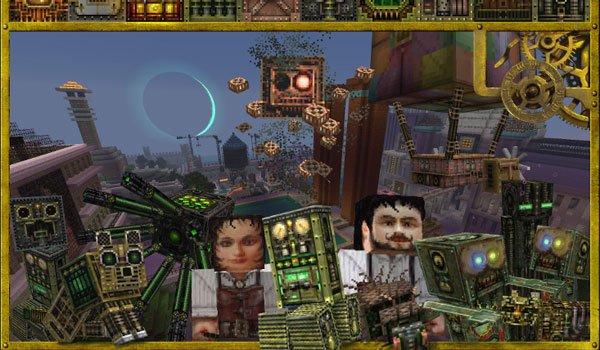 Glimmar's Steampunk Texture Pack for Minecraft 1.8
