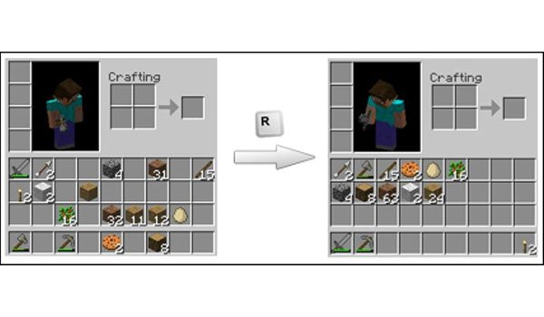 Inventory Tweaks Mod for Minecraft 1.7.2 and 1.7.10