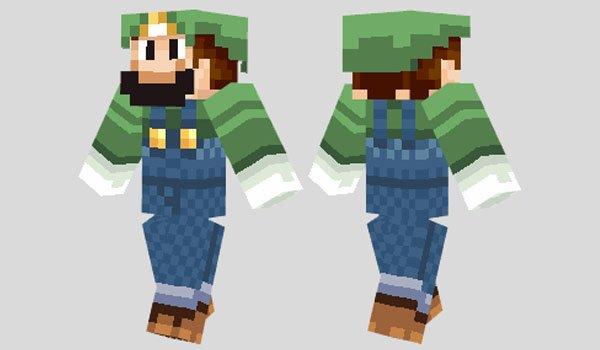 Luigi Skin for Minecraft