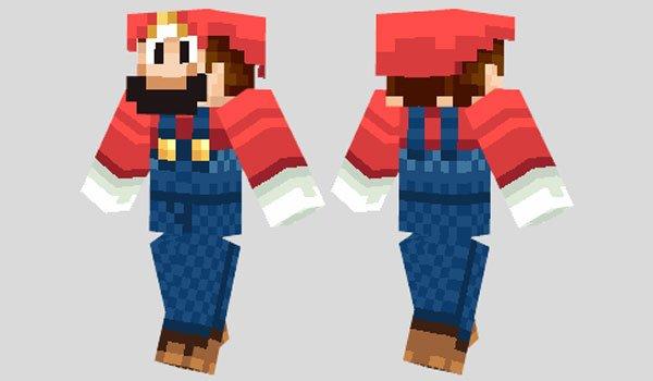 Mario Skin for Minecraft